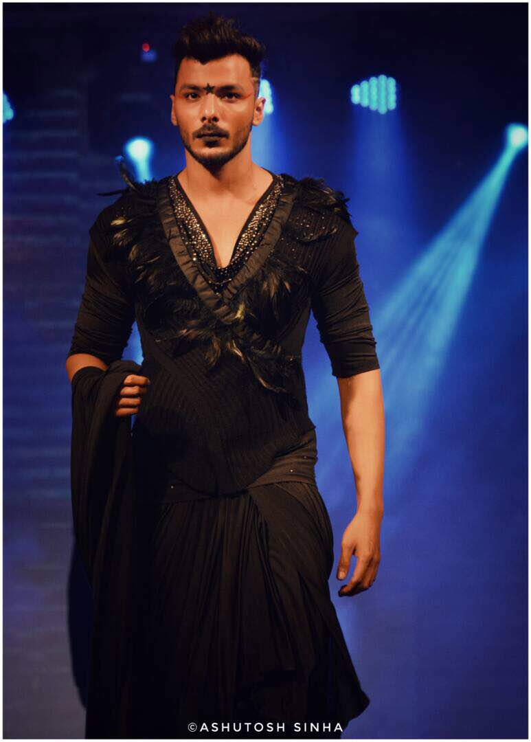 Designer Rohit Verma Showcased Grave Yard Collection At India Luxury Style Week Showstoppers Abhimanyu Singh Sharad Kelkar Bolly Newz