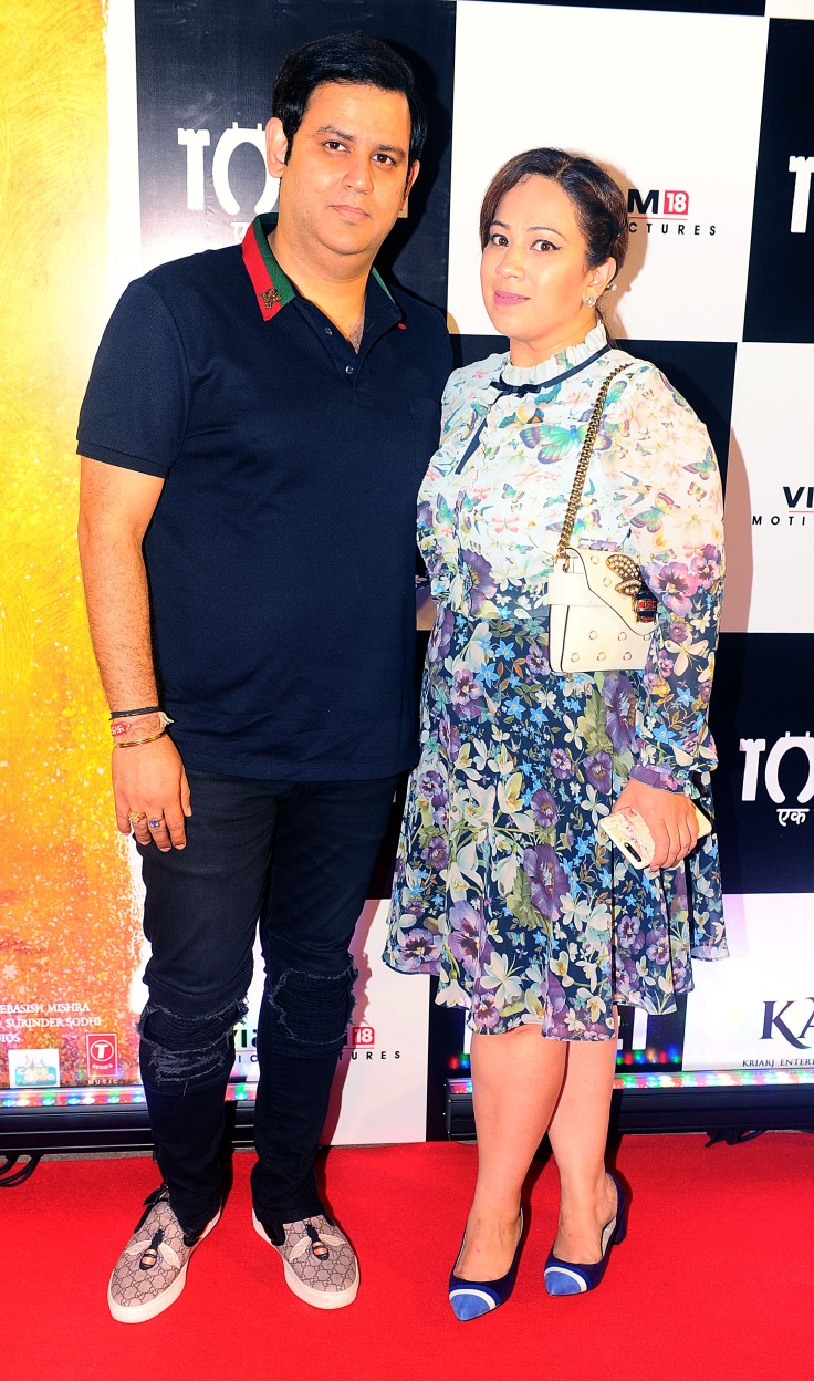 1. Ajay Kapoor along with his wife Ekta Ajay Kapoor at the screening of Toilet Ek Prem Katha.jpg