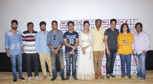 Aamir Ali, Shree Shankar, Sanjay Amar, Mujeeb Ul Hassan, Jitesh Kumar, Bidita Bag, Virendra Saxena, Rahat Kazmi, Zeba Sajid, Imran Shahid at the trailer launch of their film Rabbi