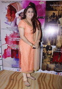 Associate Presenter Yoshma Pathak at the trailer launch of her film Rabbi to release on 15th Sept 2017
