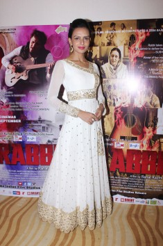 Bidita Bag at the trailer launch of her film Rabbi to release on 15th Sept 2017