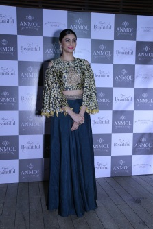 Daisy Shah at ANMOL's campaign launch event