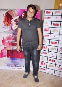 Director Rahat Kazmi at the trailer launch of his film Rabbi to release on 15th Sept 2017