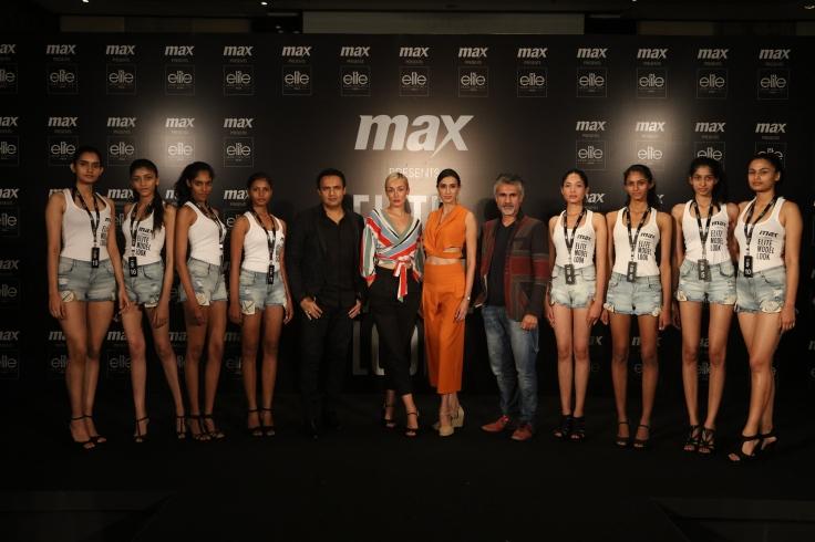 Jury with Girls Finalists