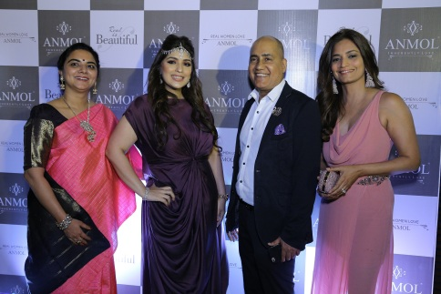 Mamta Patil, Rakhi Vaswani, Ishu Datwani and Purnima Pilinja at ANMOL's campaign launch event