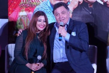 Payal Ghosh and Rishi Kapoor