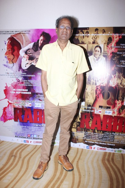Virendra Saxena at the trailer launch of his film Rabbi to release on 15th Sept 2017
