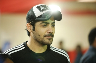 Abhishek Kapur at a cricket match between Boxy Boyz Celebrity XI & Specially Abled India XI at Goregon Sports Club