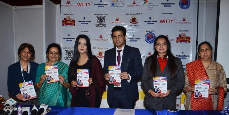 Alka Khosla, Savita Venkat, Amruta Fadnavis, Pawan Shankar, Raina Jain and Vandana Arora 2 at the Educationista's Prestigious Schools Exhibition at Bombay Exhibition Centre, NESCO