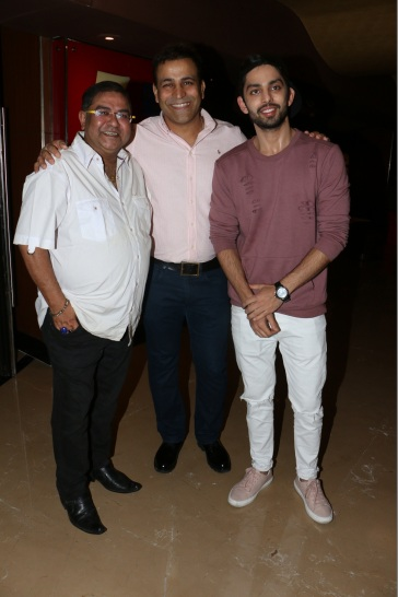 Himansh Kholi, Ashiesh Roy and director Naresh Lalwani