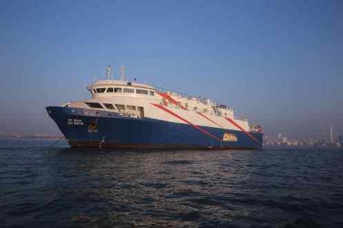 Mumbai Maiden Cruise Ship