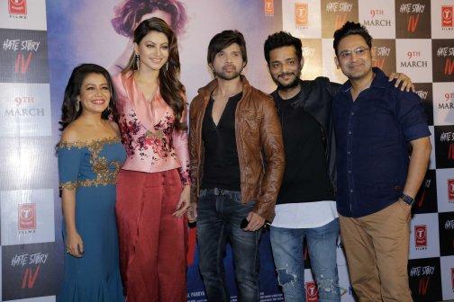 Neha, Urvashi, Himesh, Tanishk and Manoj