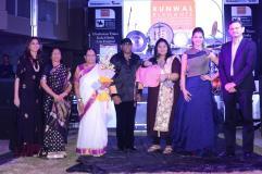 Runwal Family with Sivamani Runa Rizvi Urvashi Rautela Sandip Runwal-2