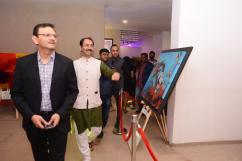 Sandeep Runwal at the Kala Ghoda Arts Festival Reloaded