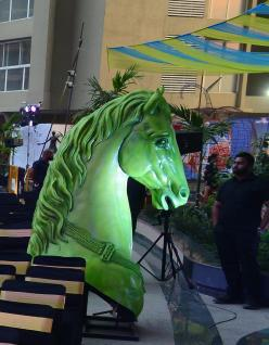 The Haraghoda which marks this years environment protection theme