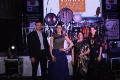 Urvashi Rautela Sandeep Runwal and his family at the Kala Ghoda Art Festival Reloaded in western suburbs (1)-2