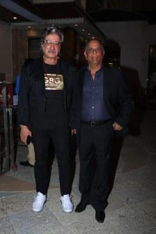 Shakti Kapoor and Pahlaj Nihalani