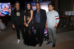 Shakti Kapoor, Mishika Chourasia, Pahlaj Nihalani and Music Director Ishwar Kumar
