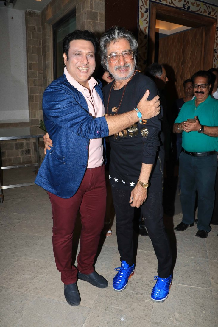 Govinda and Shakti Kapoor