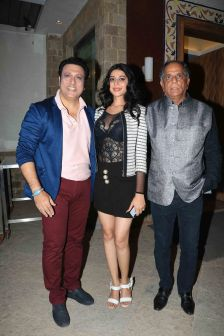 Govinda with Mishika Chourasia and Pahlaj Nihalani