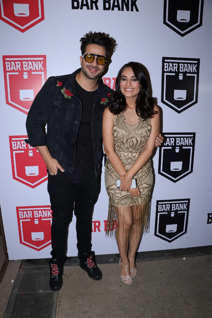 Aly Goni & Surbhi Jyoti spotted at an exclusive event hosted by Restaurateur Mihir Desai and Kedar Gawade at Bar Bank in Juhu (1)
