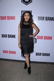 Krystal d'souza spotted at an exclusive event hosted by Restaurateur Mihir Desai and Kedar Gawade at Bar Bank in Juhu (1)