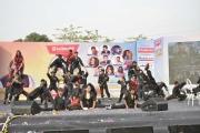 _kungfu group at Malad Masti opening ceremony
