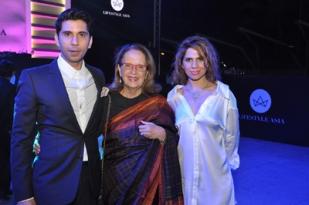 Mikhil Narang, Pheroza Godrej & Gauri Malhotra Narang