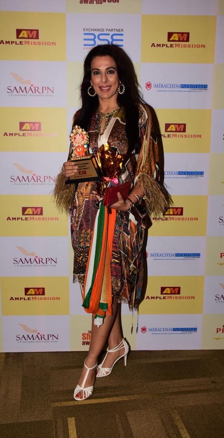 Pooja Bedi at Ample Missiion's Shoorveer Awards & Bharat Prerna Awards 2019