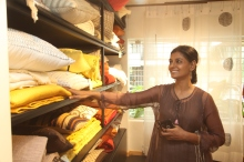 Nandita Das at the Mumbai store launch of Shades of India